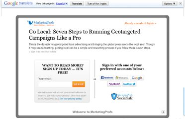 http://www.marketingprofs.com/articles/2011/5200/go-local-seven-steps-to-running-geotargeted-campaigns-like-a-pro