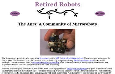 http://www.ai.mit.edu/projects/ants/