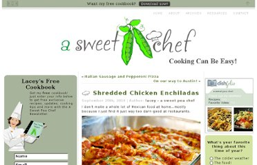 http://www.asweetpeachef.com/chicken/shredded-chicken-enchiladas/