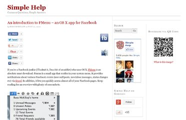 http://www.simplehelp.net/2007/07/21/an-introduction-to-fmenu-an-os-x-app-for-facebook/