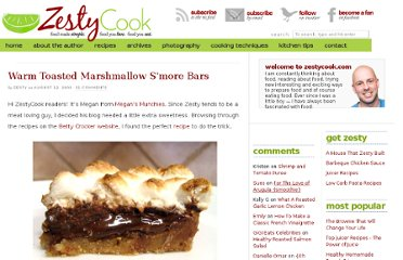 http://zestycook.com/warm-toasted-marshmallow-smore-bars/