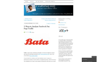 http://themarketingblog.wordpress.com/2010/09/07/3-ways-to-analyze-facebook-fan-page-traffic/