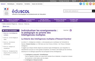 http://eduscol.education.fr/cid52893/zoom-sur-les-intelligences-multiples.html