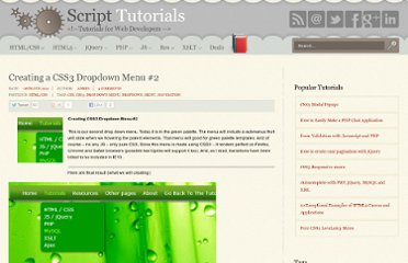 http://www.script-tutorials.com/creating-css3-dropdown-menu-2/