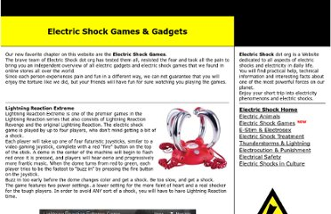 http://www.electricshock.org/electric-shock-games.html