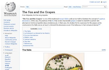 http://en.wikipedia.org/wiki/The_Fox_and_the_Grapes