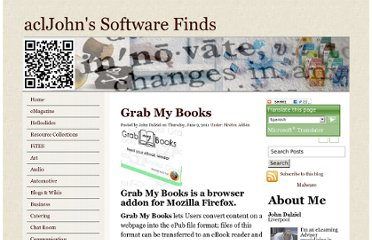 http://www.acljohn.com/software/grab-my-books