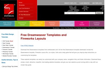 http://www.entheosweb.com/website_templates/free-dreamweaver-templates.asp