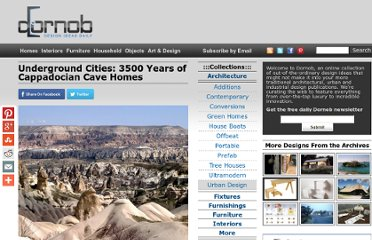 http://dornob.com/underground-cities-3500-years-of-cappadocian-cave-homes/