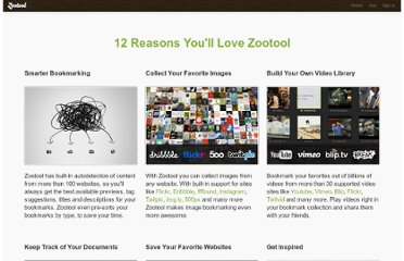 http://zootool.com/features