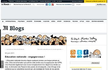http://vidberg.blog.lemonde.fr/2011/06/09/education-nationale-engagez-vous/