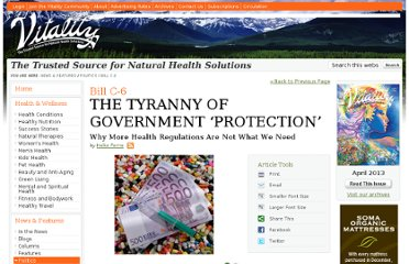 http://www.vitalitymagazine.com/article/the-tyranny-of-government-protection/