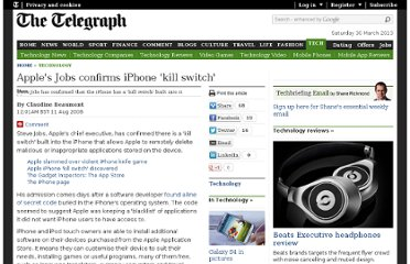 http://www.telegraph.co.uk/technology/3358134/Apples-Jobs-confirms-iPhone-kill-switch.html