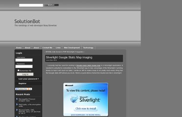 http://www.solutionbot.com/2010/06/23/silverlight-google-static-map-imaging/