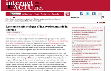http://www.internetactu.net/2010/01/14/recherche-scientifique-linnovation-nait-de-la-liberte/