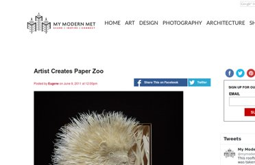 http://www.mymodernmet.com/profiles/blogs/artist-creates-paper-zoo