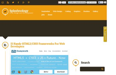 http://www.splashnology.com/article/15-handy-html5css3-frameworks-for-web-developers/994/