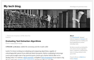 http://tomazkovacic.com/blog/122/evaluating-text-extraction-algorithms/