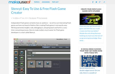 http://www.makeuseof.com/dir/stencyl-flash-game-creator/
