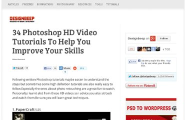 http://designbeep.com/2010/12/09/34-photoshop-hd-video-tutorials-to-help-you-improve-your-skills/