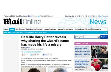 http://www.dailymail.co.uk/news/article-1221925/The-real-life-Harry-Potter-reveals-sharing-wizards-life-misery.html