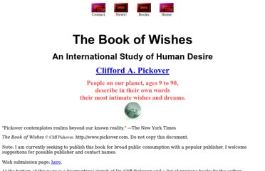 http://sprott.physics.wisc.edu/pickover/wishbook.htm