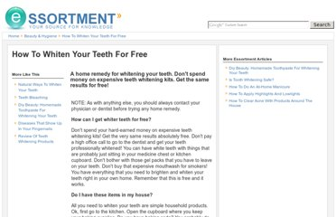 http://www.essortment.com/whiten-teeth-free-60140.html