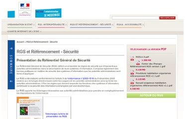 http://references.modernisation.gouv.fr/rgs-securite