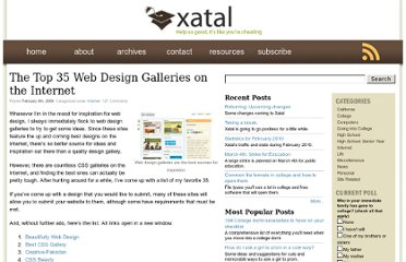 http://xatal.com/internet/the-top-35-web-design-galleries-on-the-internet/