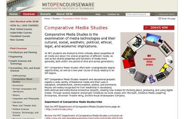 http://www.core.org.cn/OcwWeb/Comparative-Media-Studies/index.htm