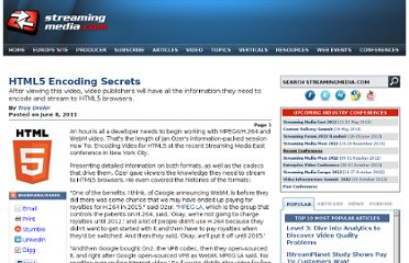 http://www.streamingmedia.com/Articles/Editorial/Featured-Articles/HTML5-Encoding-Secrets-75939.aspx