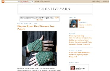 http://creativeyarn.blogspot.com/search/label/my%20free%20patterns