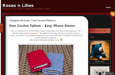 http://rosesnlilies.wordpress.com/category/free-crochet-patterns/