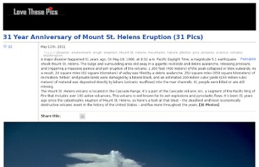 http://www.lovethesepics.com/2011/05/31-year-anniversary-of-mount-st-helens-eruption-31-pics/