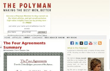 http://thepolyman.com/2011/06/the-four-agreements-summary/