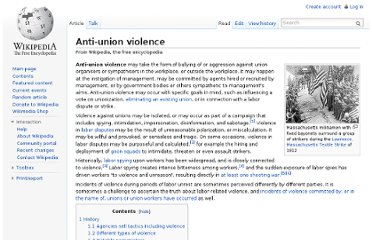 http://en.wikipedia.org/wiki/Anti-union_violence