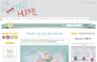 http://www.themotherhuddle.com/tutorial-tea-time-rose-hair-pin/