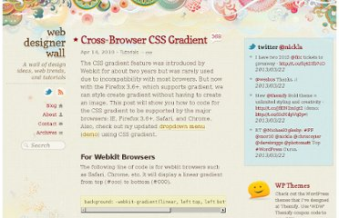 http://webdesignerwall.com/tutorials/cross-browser-css-gradient