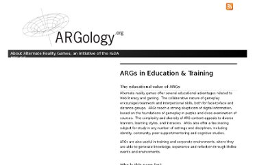 http://www.argology.org/args-in-education-training/