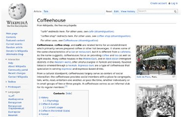 http://en.wikipedia.org/wiki/Coffeehouse