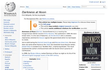 http://en.wikipedia.org/wiki/Darkness_at_Noon
