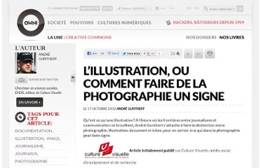 http://owni.fr/2010/10/17/l%e2%80%99illustration-ou-comment-faire-de-la-photographie-un-signe/