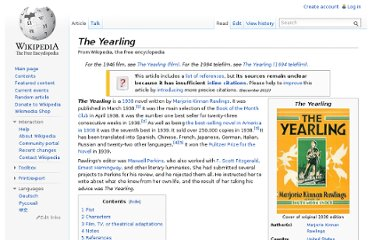 http://en.wikipedia.org/wiki/The_Yearling