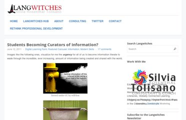 http://langwitches.org/blog/2011/06/12/students-becoming-curators-of-information/
