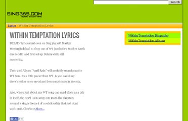 http://www.sing365.com/music/lyric.nsf/Within-Temptation-lyrics/3951C92DA6768A0F48256C9C0015EFCB