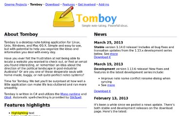 http://projects.gnome.org/tomboy/index.html