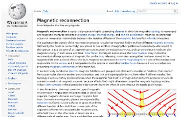 http://en.wikipedia.org/wiki/Magnetic_reconnection