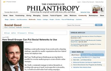http://philanthropy.com/article/How-Small-Groups-Can-Put/127745/
