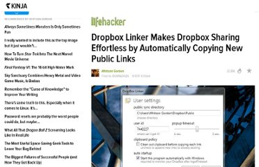 http://lifehacker.com/5811545/dropbox-linker-makes-dropbox-sharing-effortless-by-automatically-copying-new-public-links