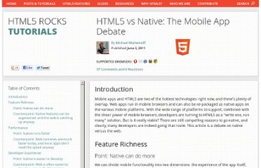 http://www.html5rocks.com/en/mobile/nativedebate.html